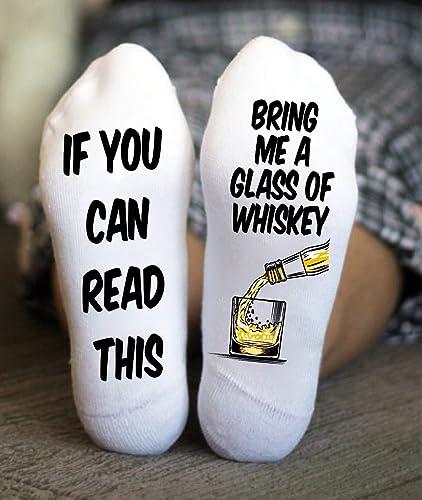 Amazon Bring Me Whiskey Socks Funny Birthday Christmas Gifts For Her Handmade