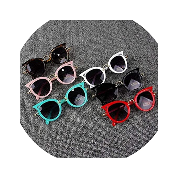 05ee09e7f93 Image Unavailable. Image not available for. Color  Kids Sunglasses Girls  Brand Cat Eye Children ...