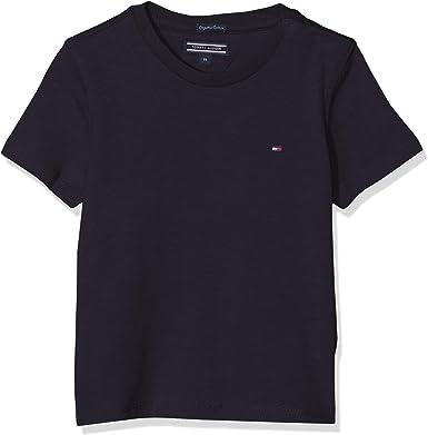 Tommy Hilfiger Jungen Boys Basic Cn Knit SS T Shirt