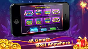 Poker:Free Video Poker Games,Jacks or Better,Deuces Wild,Jackpot Bonus Poker and Other 48 Casino Poker Games! from The SagaFun Team