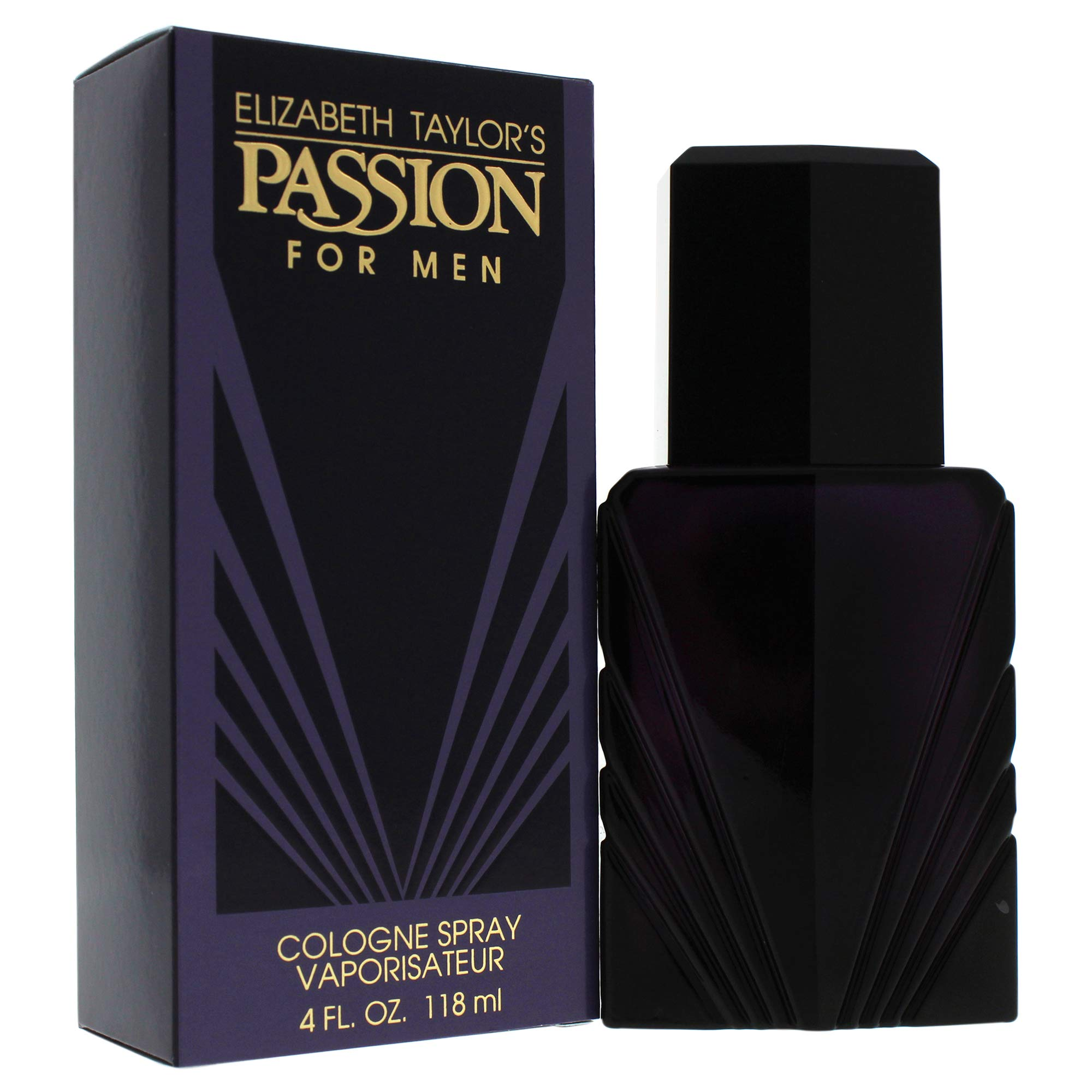 Passion by Elizabeth Taylor for Men, Cologne Spray, 4-Ounce by Elizabeth Taylor