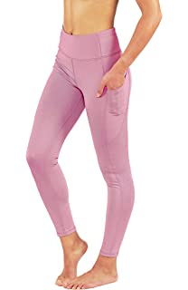 71eab9f390 Fit Division Women's Yoga Pants with Deep Side Pockets. Power Flex Dry-Fit  Workout