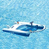 Dunn Rite Jet Net Boat Pool Skimmer with Remote Control