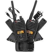 Uniden UH820-2 Twin Pack 2 Watt Handheld CB UHF Radio Pack Master Scan