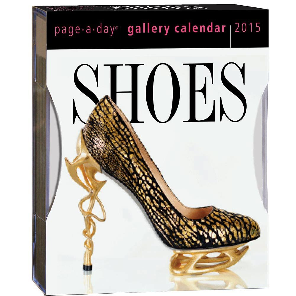 Shoes 2015 Gallery Desk Calendar