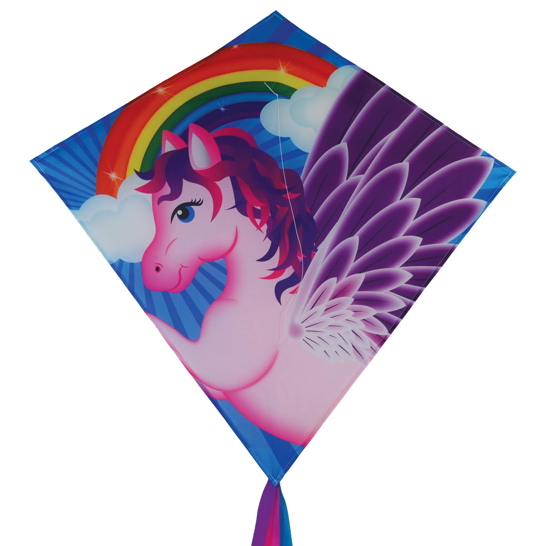 In the Breeze 3276 - Pegasus 30 Inch Diamond Kite - Fun, Easy Flying Kite by In the Breeze