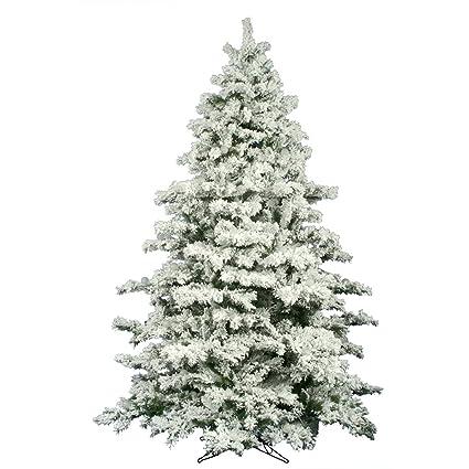 Vickerman Flocked Alaskan Unlit Pine Christmas Tree - Amazon.com: Vickerman Flocked Alaskan Unlit Pine Christmas Tree