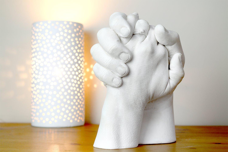 Amazon.com: !!!Flash Sale!!! Couples 3D Casting kit - Holding Hands ...