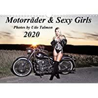 Motorräder & Sexy Girls (Wandkalender 2020 DIN A4 quer): Stilvoll gestaltete Bilder mit schweren Maschinen und heiße Girls (Monatskalender, 14 Seiten ) (CALVENDO Menschen)