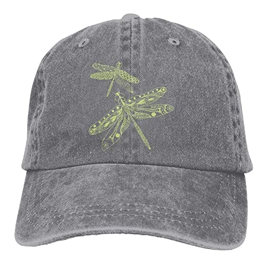 Amazon.com  Arsmt Dragonfly Denim Hat Adjustable Women s Classic ... 2c11576dc