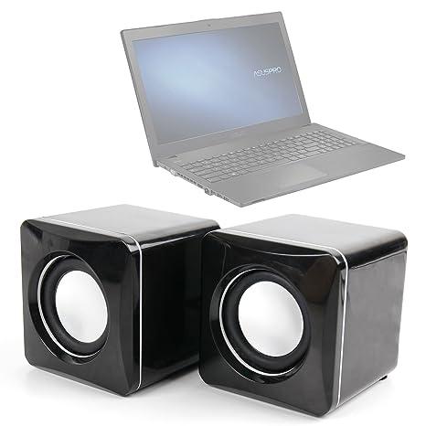 DURAGADGET Altavoces Compactos para Ordenador portátil ASUS P2520SA | P2520LA | HP 255 G4: Amazon.es: Electrónica