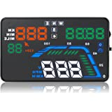 GPSバージョンOBD2インターフェイスを搭載した大画面スクリーン(5.5インチ)カーQ7 HUDヘッドアップディスプレイ