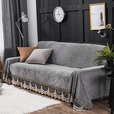FCXBQ Cojín para sofá Simple Doble Triple Conjunto de sofás ...