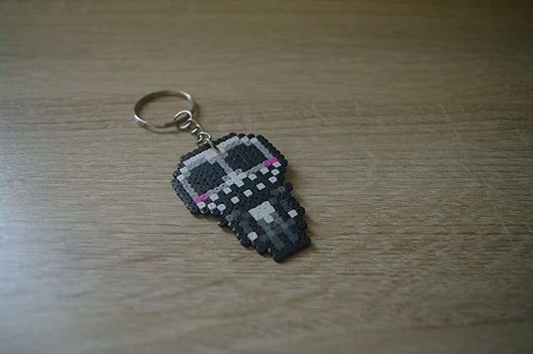 Amazon.com: Keychain Jack Skellington - Hama beads/Pixel Art ...