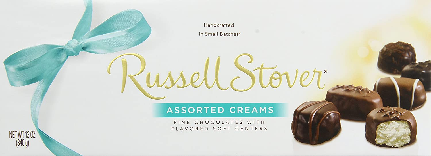 Amazon.com : Russell Stover Assorted Creams Chocolate, 12-Ounce ...