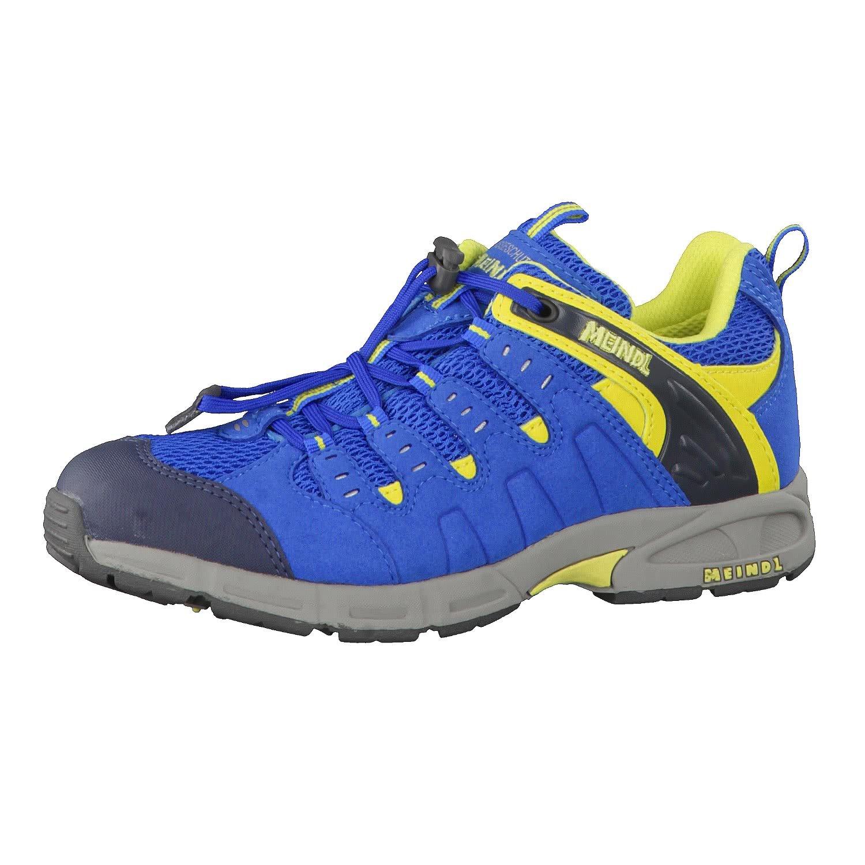 bleu (jaune Hellbleu) 38 EU Meindl 2046 85, Chaussures Montantes pour Garçon