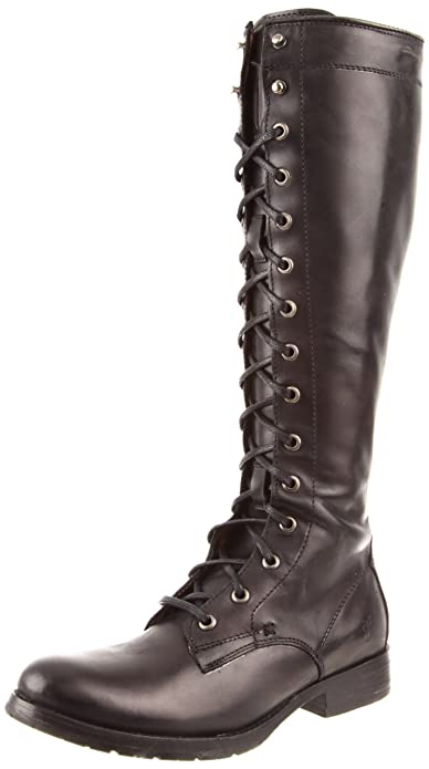 Amazon.com | FRYE Women\'s Melissa Tall Lace Boot | Knee-High