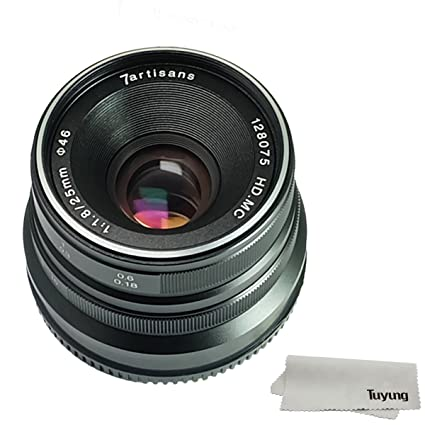 amazon com 7artisans 25mm f1 8 manual focus lens for sony emount rh amazon com Sony NEX Flash Sony NEX Flash
