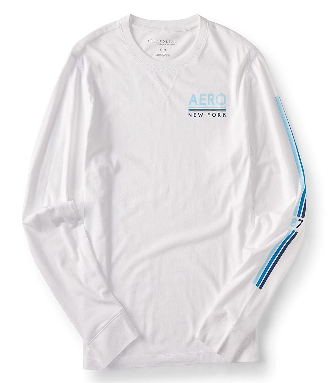 49da0deb Aeropostale Mens Simple Print Graphic T-Shirt White XS | Amazon.com