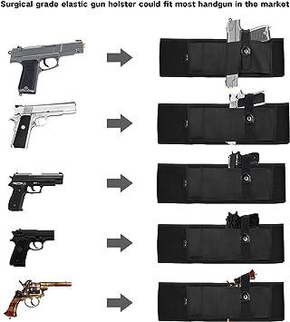 Contre Les Chocs Porte-Chargeur Procase Holster Discret Inside Souple tr/ès R/ésistant /Étui pour Arme /à Feu Holster de Ceinture pour Pistolet Id/éal en Tenue Civile R/ésistance /à la Chaleur