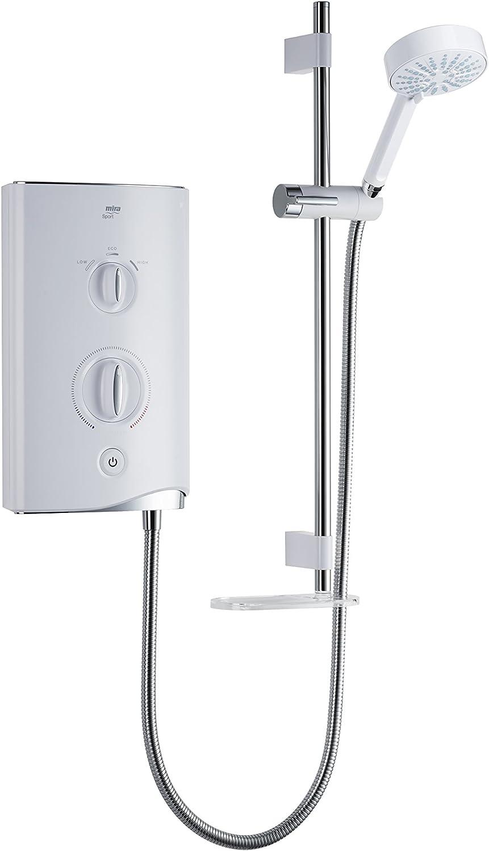 Mira Showers 1.1746.004 Sport 10.8 kW Electric Shower - White/Chrome