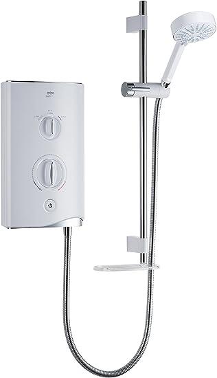 Mira Showers 1 1746 004 Sport 10 8 Kw Electric Shower White Chrome Amazon Co Uk Diy Tools