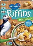 Barbara's Bakery Puffins Cereal, Multigrain, 10 Ounce