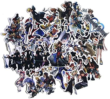Five Nights At Freddy/'s Themed Set of 58 Assorted Stickers Decal Set