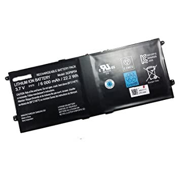 Dentsing SGPBP04 Battery 6000mAh/22 2Wh for SONY Xperia