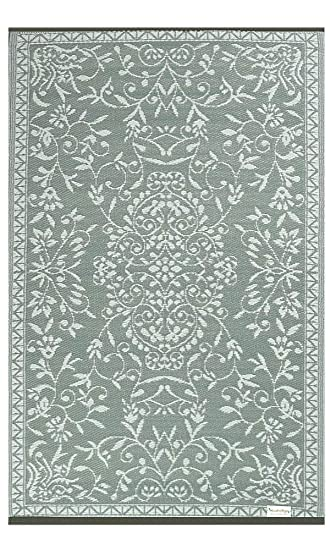 Garten Teppich Grau