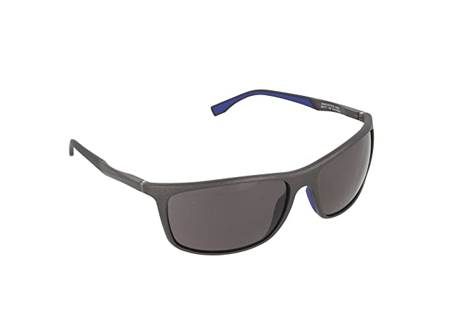 Boss Unisex-Adults 0753/F/S 9U Sunglasses, Blhvn Carbon, 58 HUGO BOSS