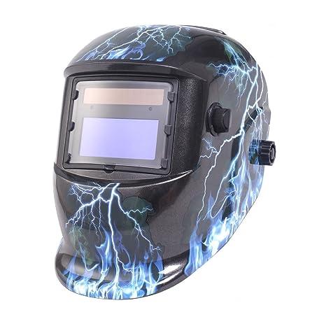 gymax energía Solar de Soldadura de Oscurecimiento Automático casco ARC soldar TIG MIG molienda máscara