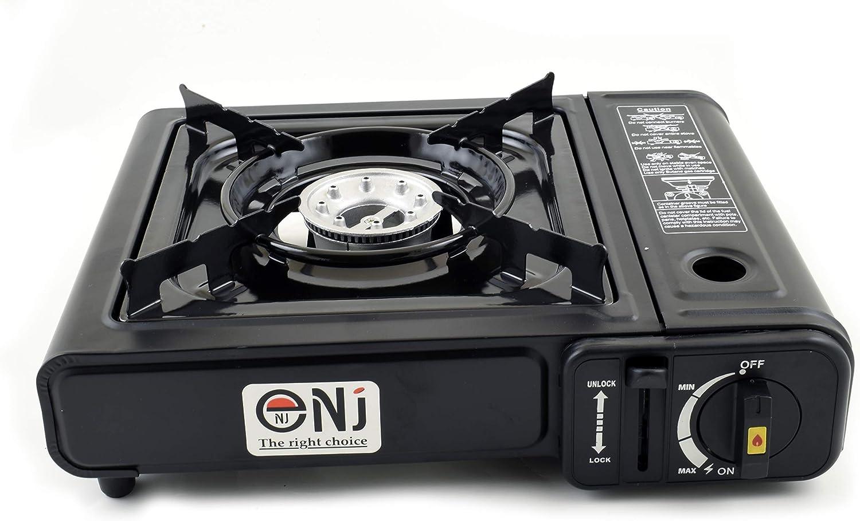Portable à Gaz Réchaud 1 brûleur Outdoor Camping Cuisinière Étui Sac 2.3 kW NJ-153