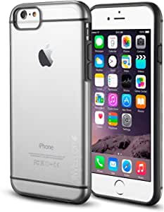 iPhone 6S case, INVELLOP GRAY/CLEAR iPhone 6 / 6S Case [Prime Series] Scratch-Resistant Clear Slim Fit Cover with Shock Absorbent TPU Hybrid Bumper Protection iPhone 6 / 6S 4.7 Case