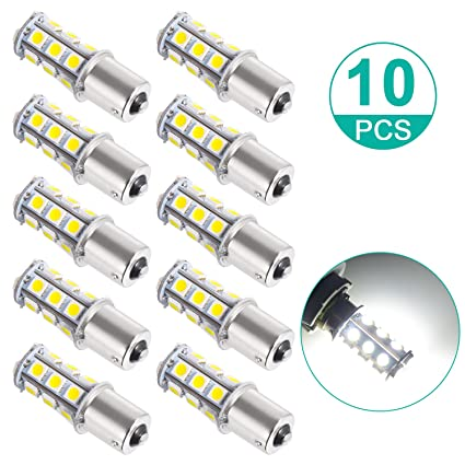 Sunnest Super Bright 1156 LED Light Bulb, 12V 7506 1003 1141 18-SMD LED