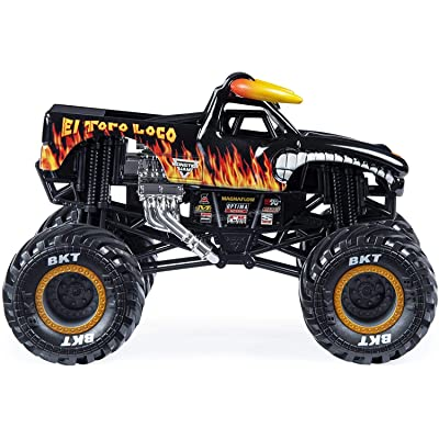 Monster Jam 1:24 Scale, El Toro Loco: Toys & Games [5Bkhe0700940]