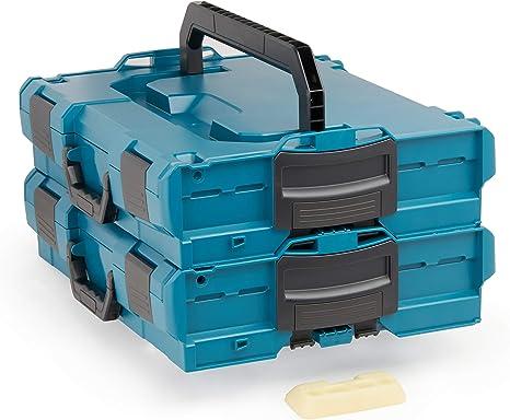 L-BOXX Soporte para Bosch Sortimo L-SAFE pro Fusible Fijaci/ón para Lboxx 2 Soportes para Desatornillar para Todos Bosch L-BOXX Cofre Herramientas