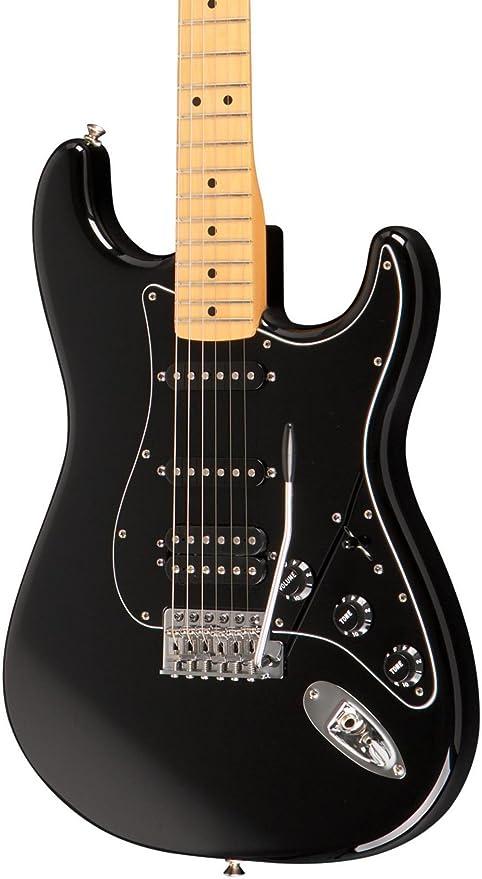 Fender FSR Standard Stratocaster HSS MN BLK · Guitarra eléctrica