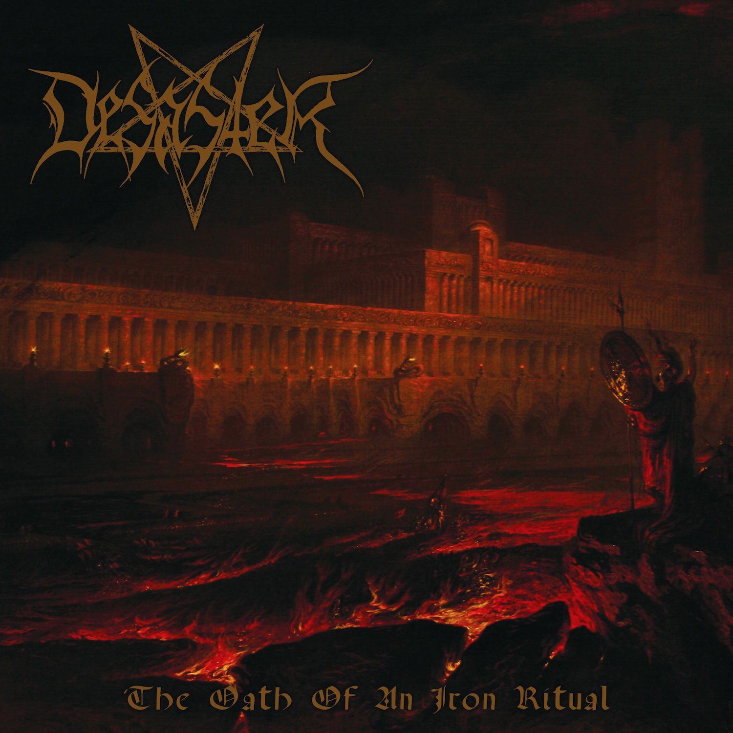CD : Desaster - The Oath Of An Iron Ritual (CD)