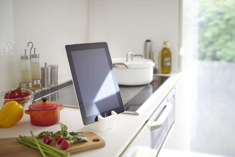 Square Support pour Tablette Blanc.