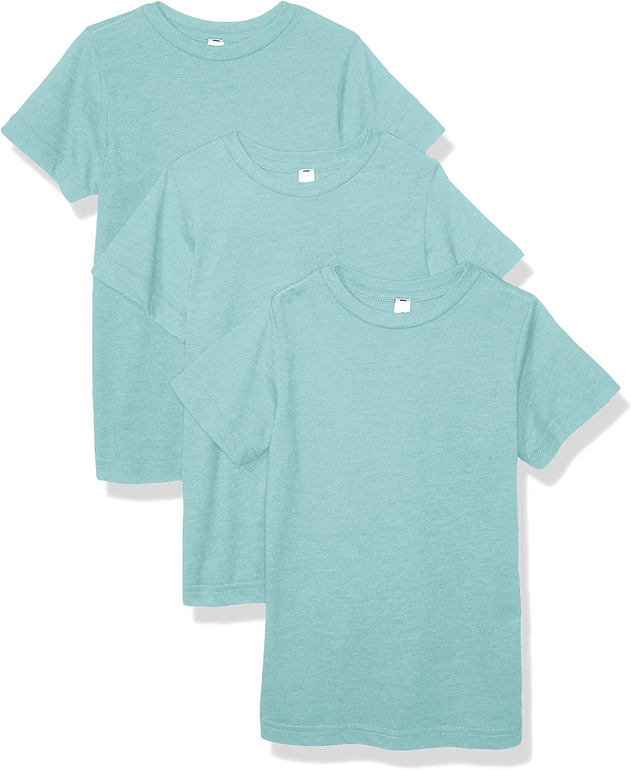 AquaGuard Boys Big Fine Jersey T-Shirt-3 Pack
