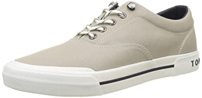 Y2285armouth 1d, Sneaker Basses Homme, Jaune (Freesia 701), 44 EUTommy Hilfiger