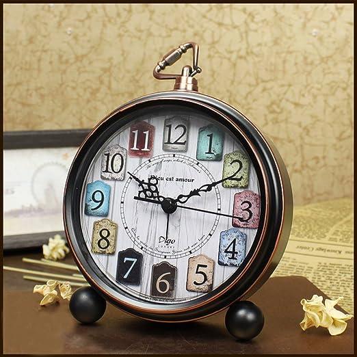 per Despertadores Retro Vintages Relojes Despertador para Mesa ...