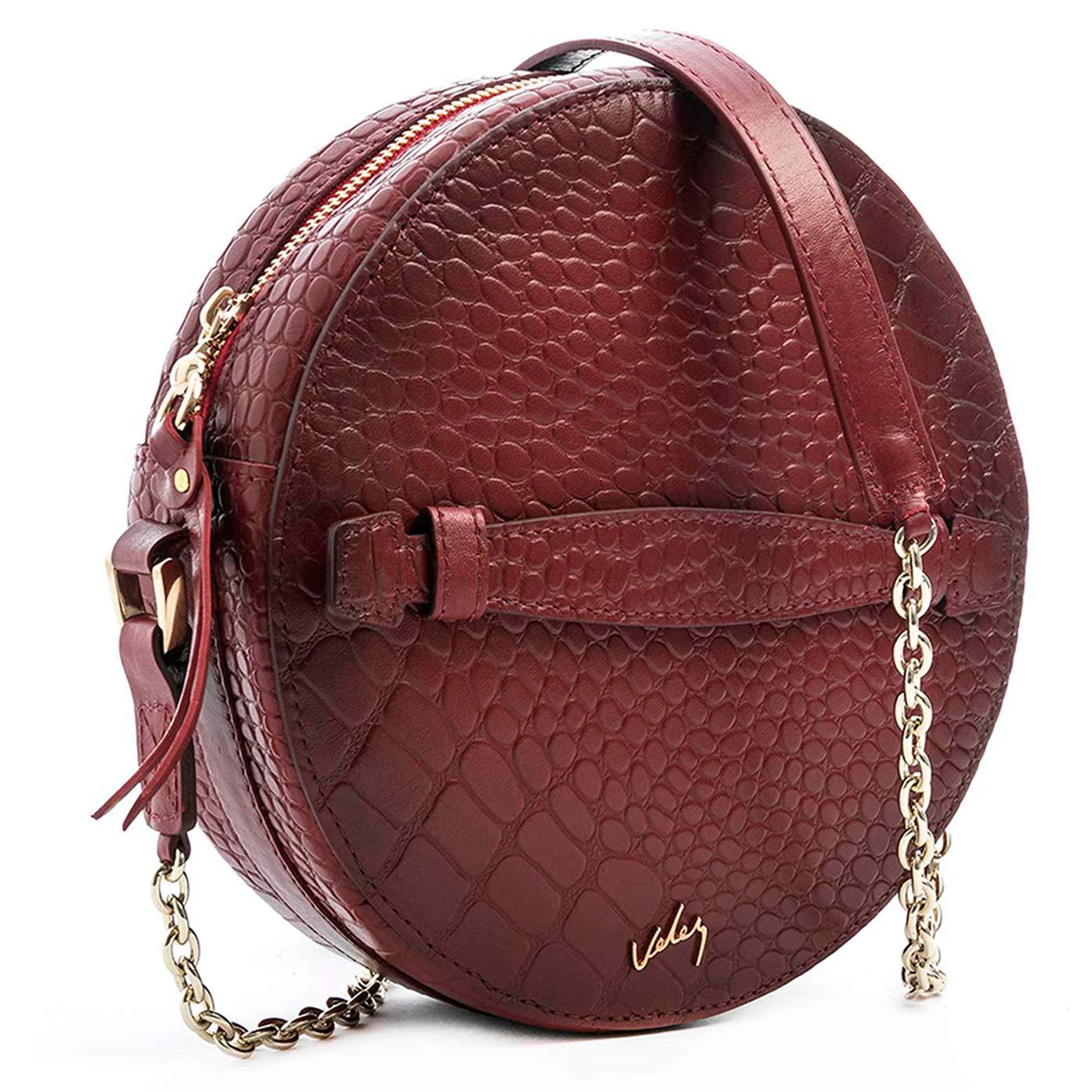 Amazon.com: VELEZ Cuero Crossbody Bolsos Para Mujer | Bolso ...