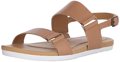 Teva Avalina Crossover Leather W's Damen Sport- & Outdoor Sandalen, Beige (Tan 831), EU 36