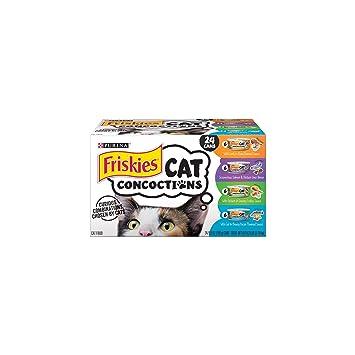 Purina - Friskies Friskies Alimentos mojados para gatos, conecciones para gatos, 4 sabores, pack variado, 14,5 ml: Amazon.es: Productos para mascotas