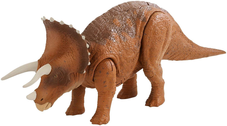 Mattel Jurassic World FMM24 - Roarivores Triceratops