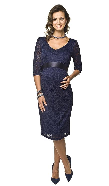 Torelle Damen Umstandskleid Brautkleid für Schwangere Lace