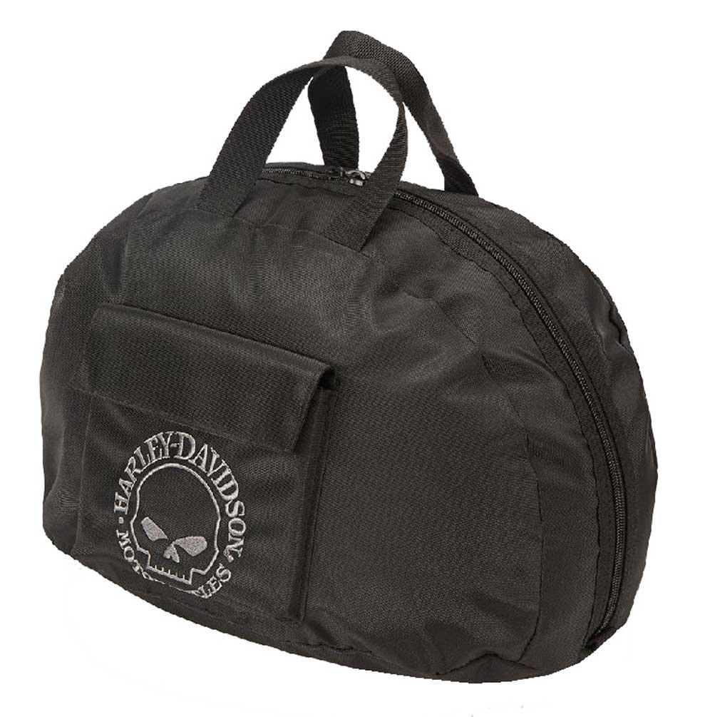 Harley Davidson Half Helmet Bag, Black