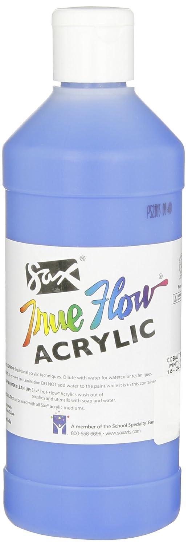 Sax True Flow Heavy Bodied Acrylic Paint - Pint - Cobalt Blue